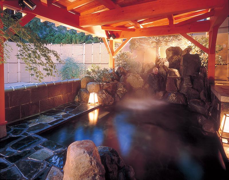 公众温泉浴堂