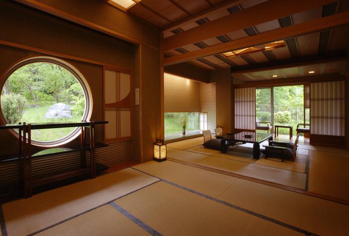 带露天温泉的日式房间